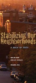 Stabilizing our neighborhoods